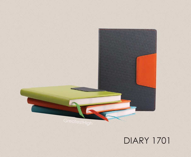 Diary no. DA 1701 , Geo