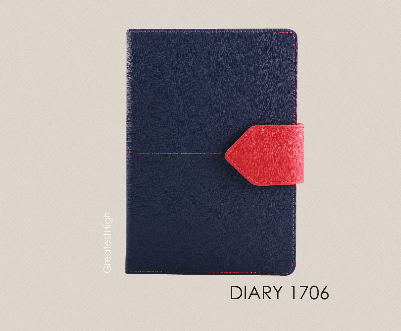 Diary no. DA 1706 , Garnet