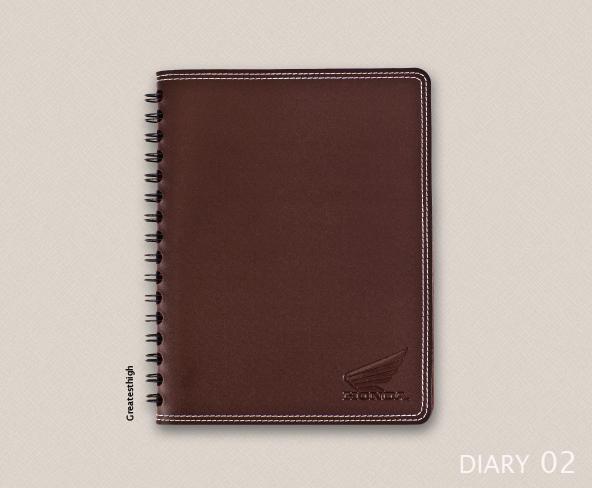 Diary no. DA 02 , Simple with stich