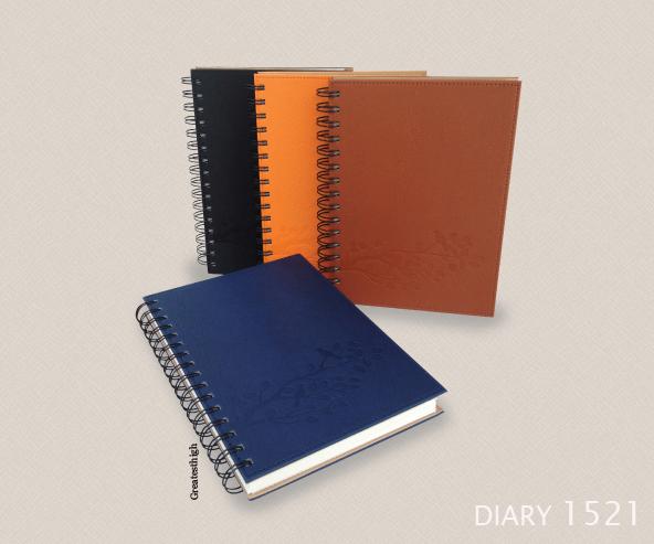 Diary no. DA 1521, Super Spiral