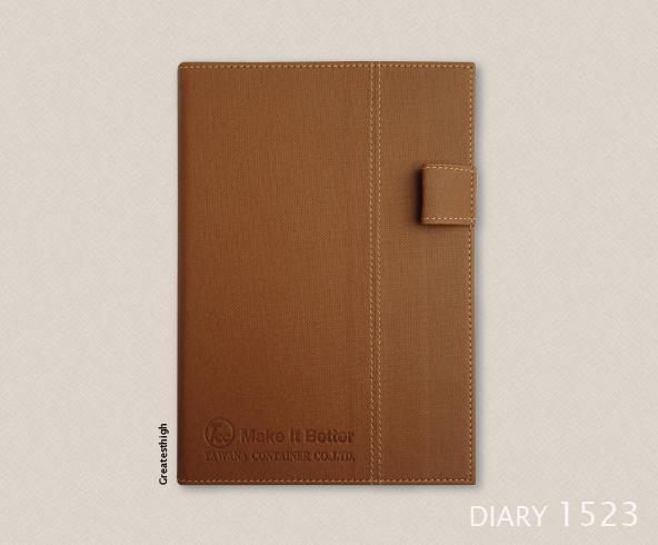 Diary no. DA 1523 , Toppen