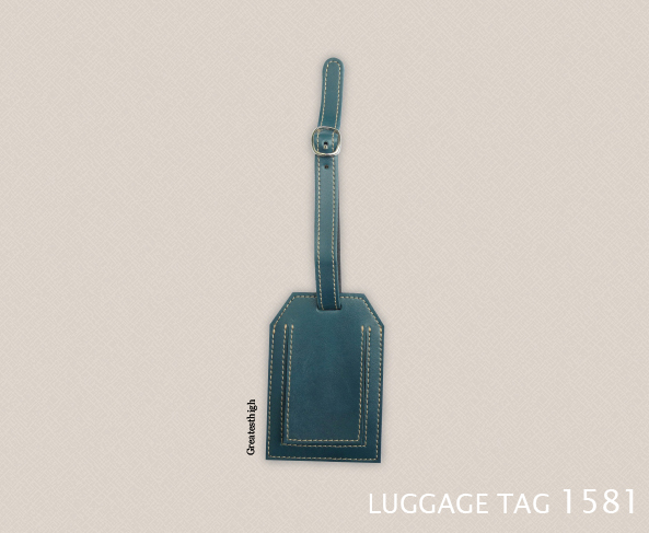 Luggage tag 1581