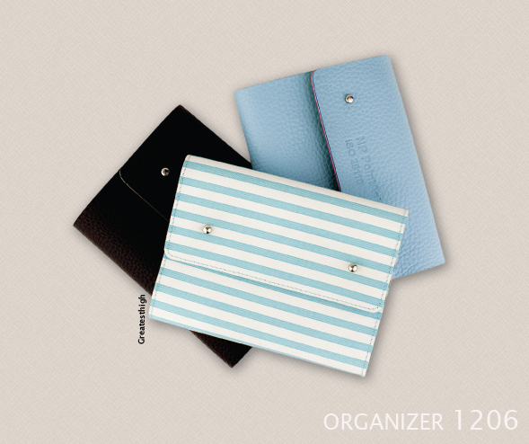 Organizer no. OR 1206 , Fold