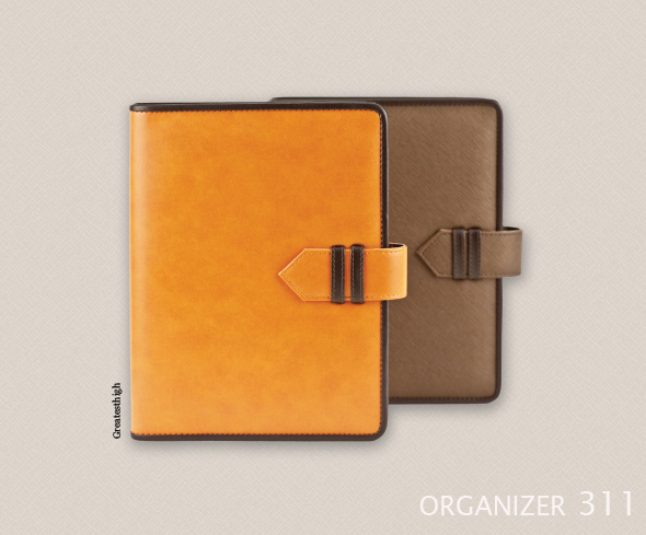 Organizer no. OR 311 , Double lock