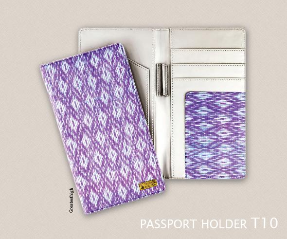 Passport Holder , T10 , Thai silk