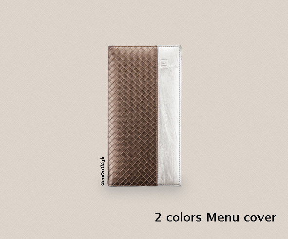 small menu cover