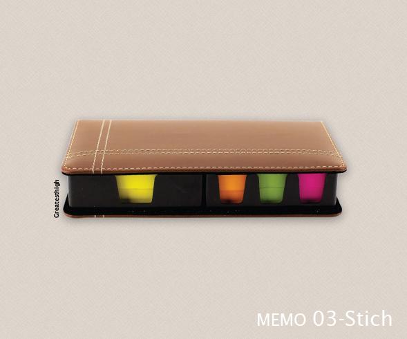 Memo box , MM03 stich
