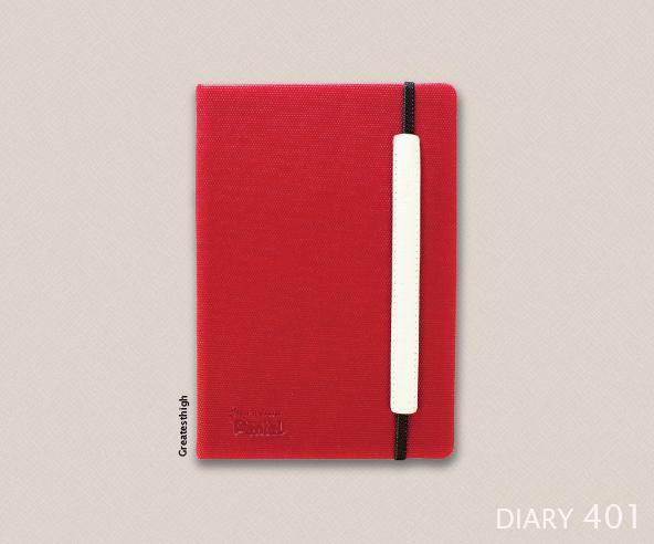 Diary no. DA 401 , Nick
