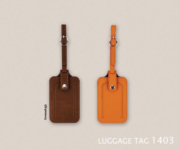 Luggage tag 1403