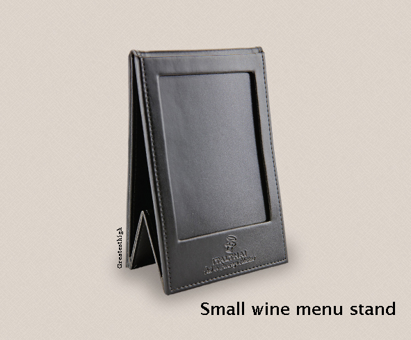 wine Menu Cover