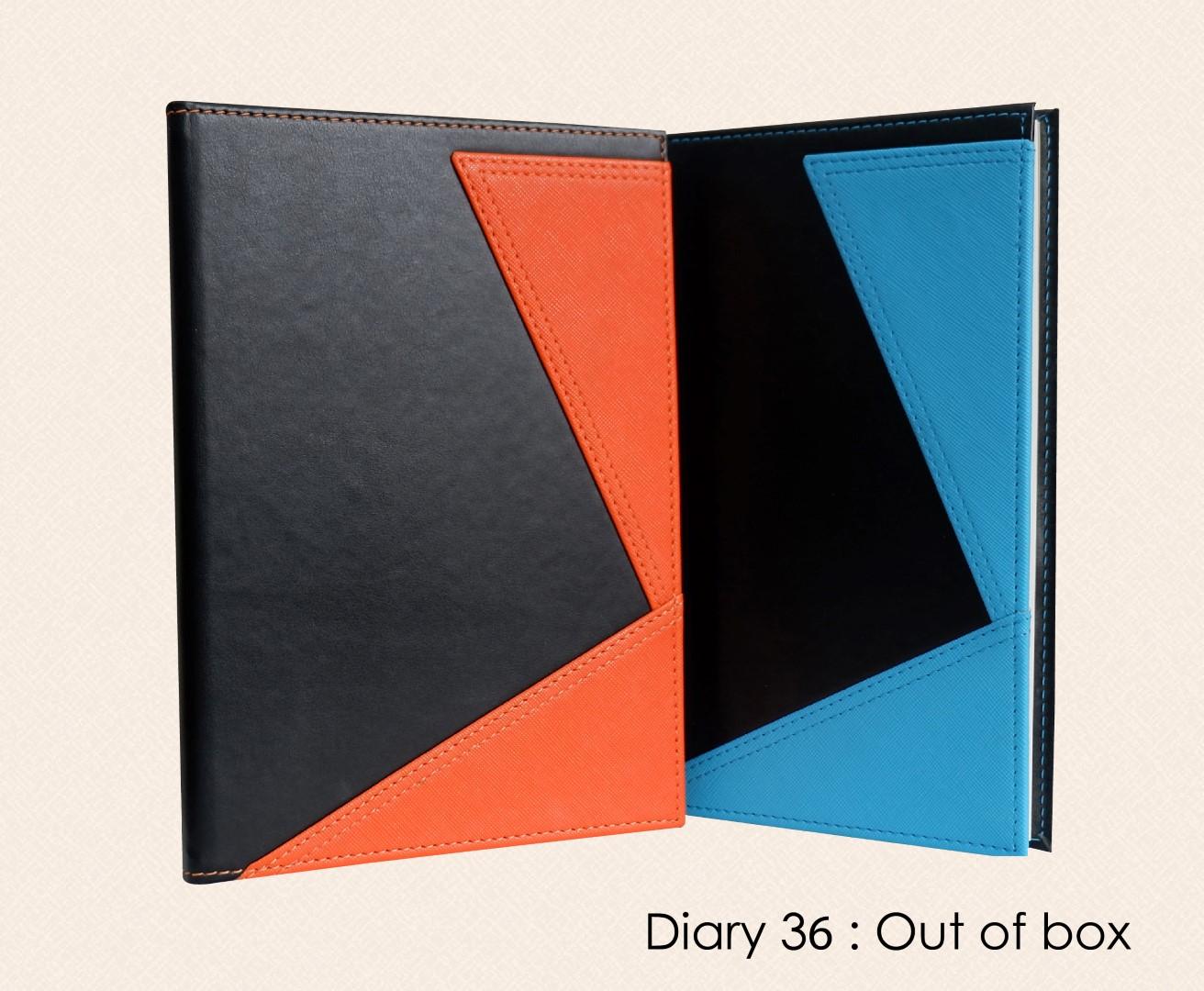 ไดอารี่ สมุดโน๊ต Diary Notebook DA 36 Out of box