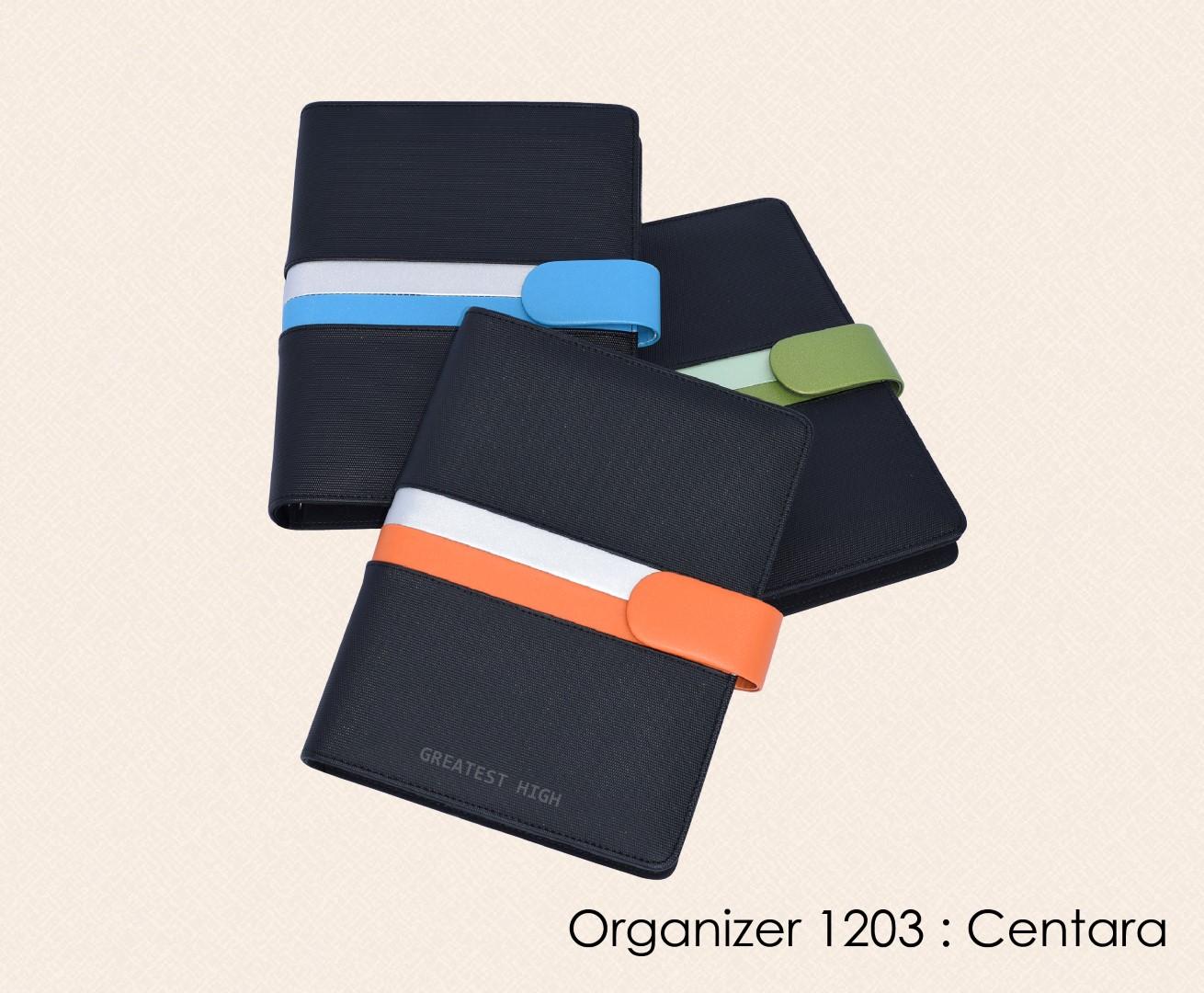สมุดออร์กาไนเซอร์ Organizer : OR 1203 Centara