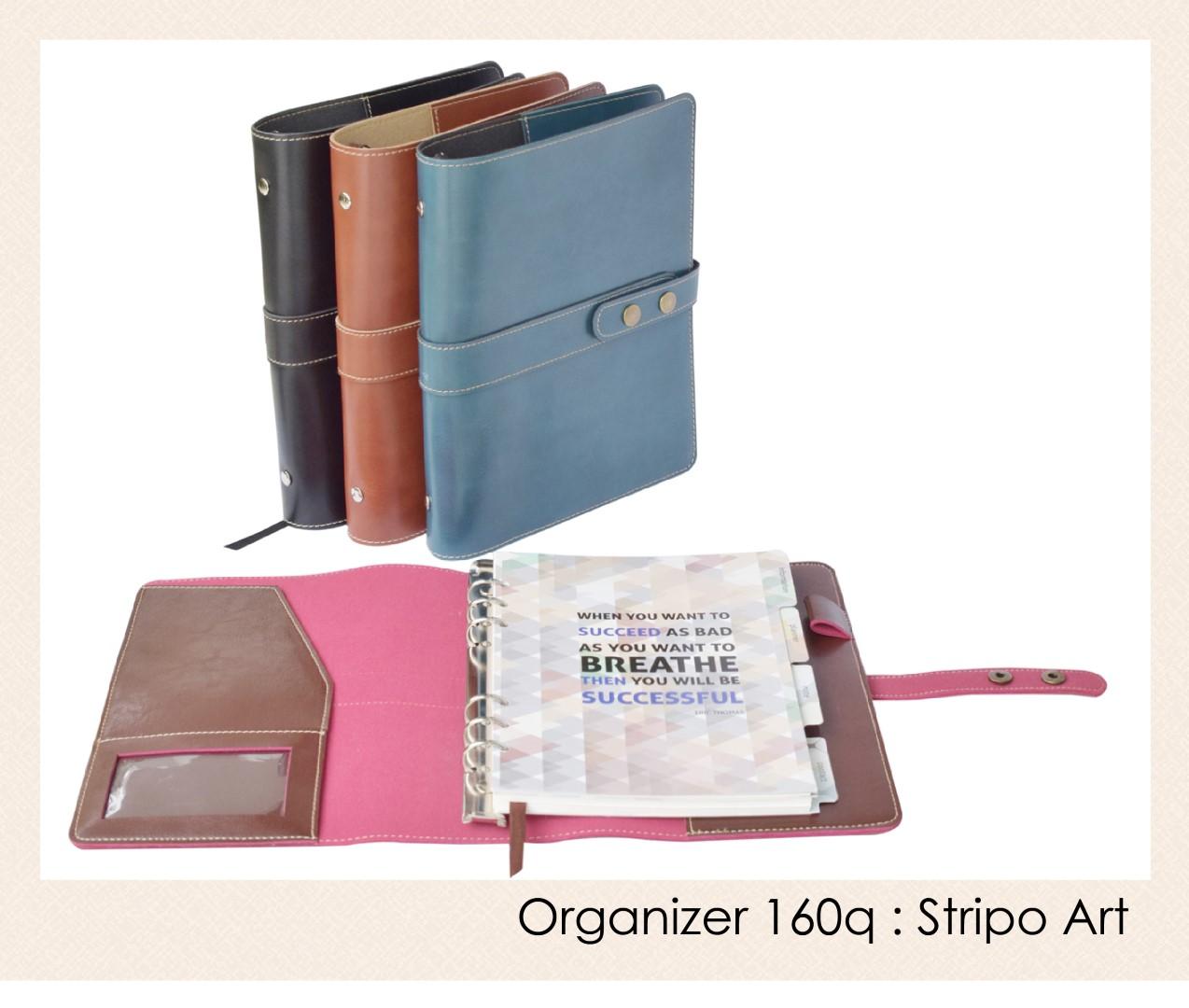 สมุดออร์กาไนเซอร์ Organizer : OR 160q - Stripo art