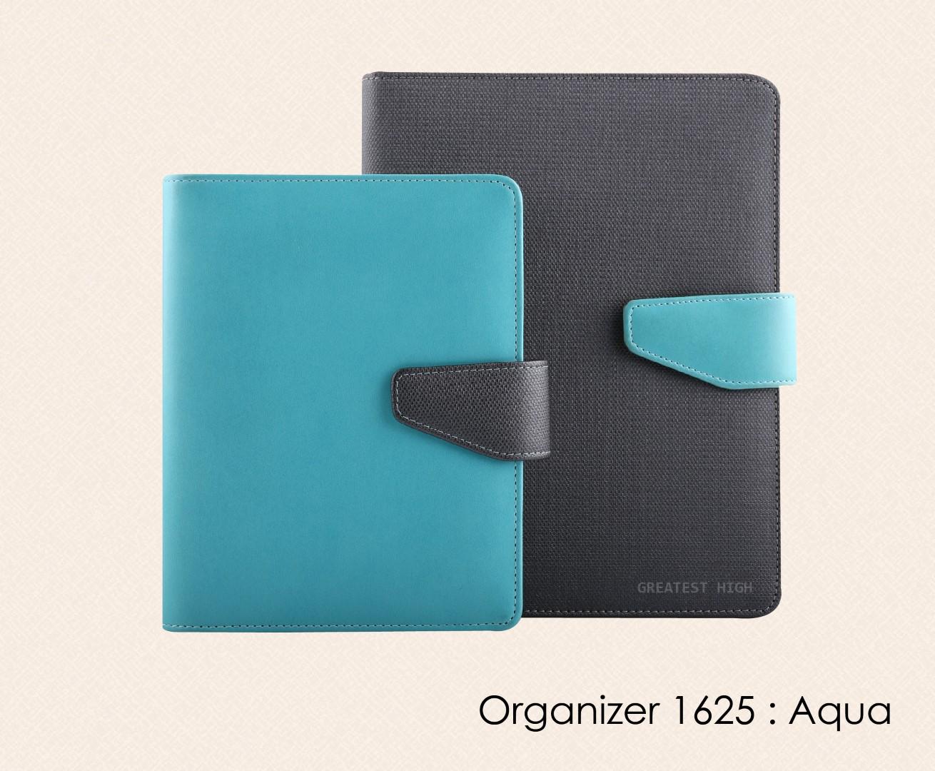 สมุดออร์กาไนเซอร์  Organizer  : OR 1625 Aqua
