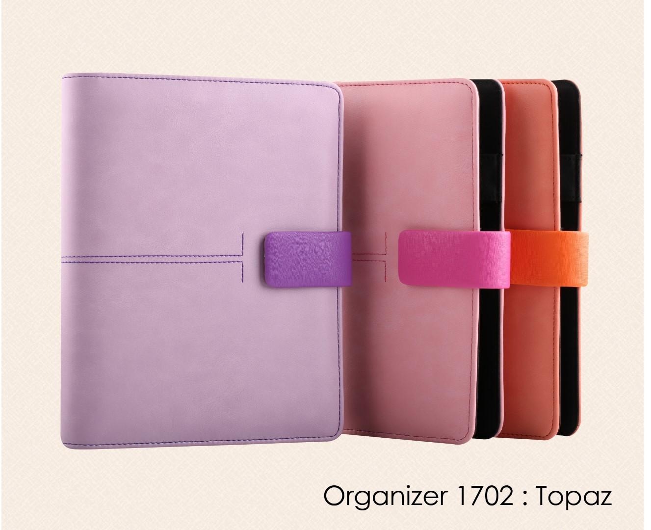 สมุดออร์กาไนเซอร์  Organizer  : OR 1702 topaz