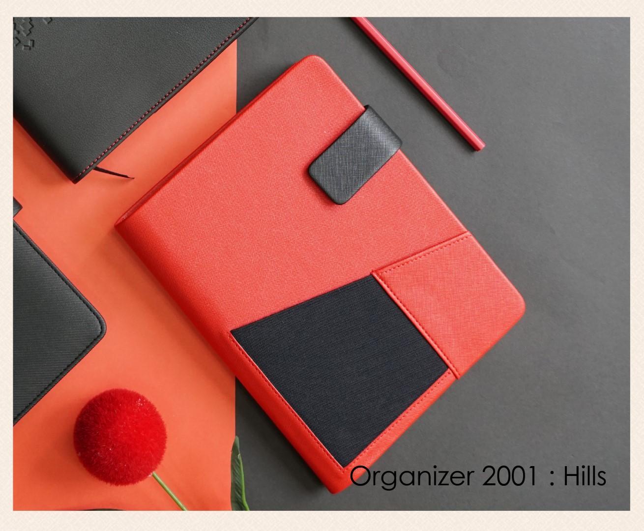 สมุดออร์กาไนเซอร์ Organizer : OR 2001 Hill