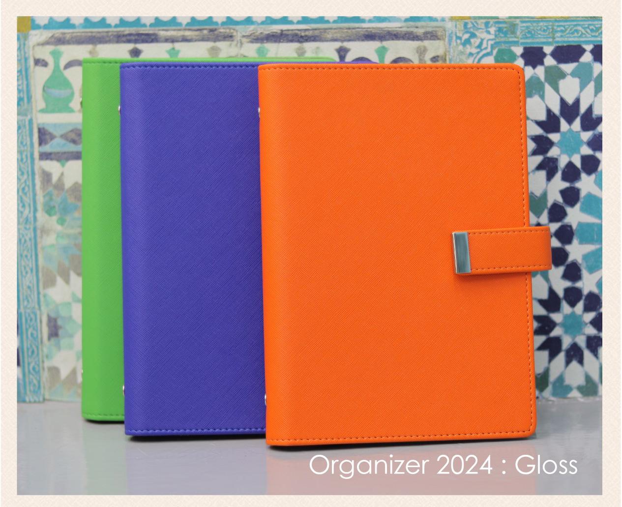 สมุดออร์กาไนเซอร์  Organizer  : OR 2024 Gloss
