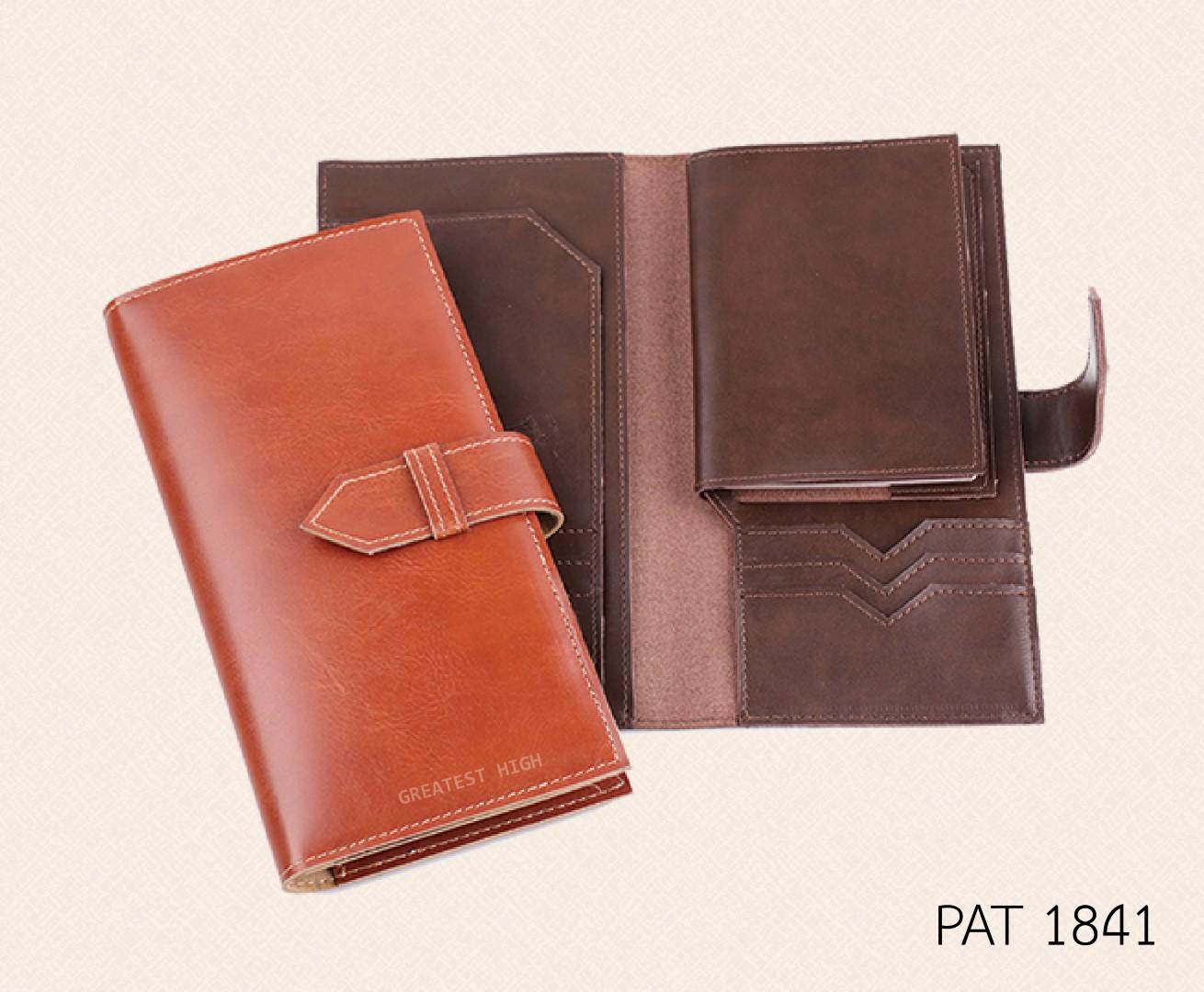 Air ticket and Passport holder : PAT 1841