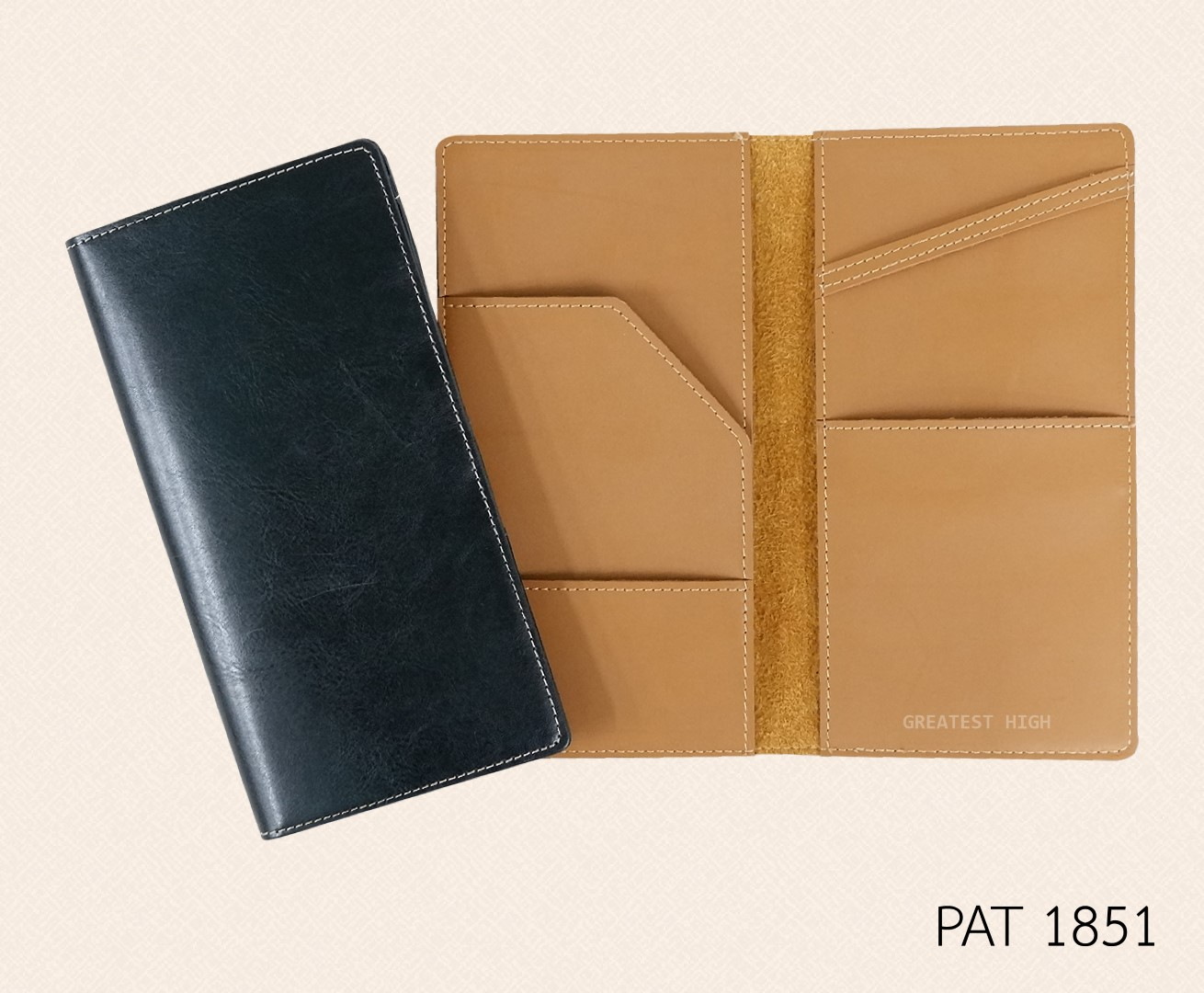 Air ticket and Passport holder :  PAT 1851