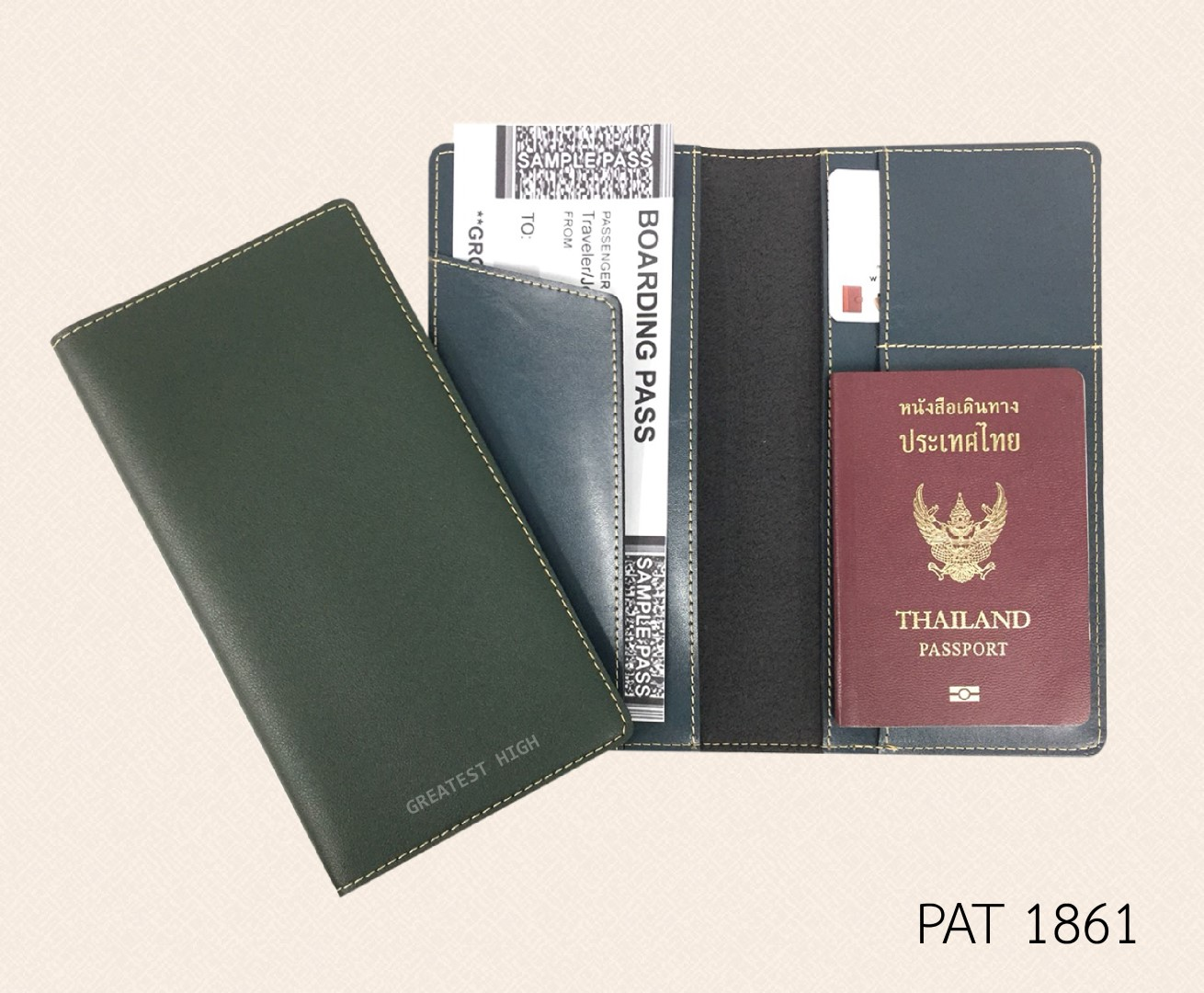 Air ticket and Passport holder : PAT 1861